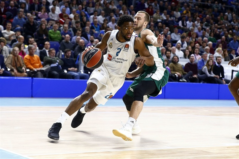 Chasson Randle - Real Madrid - EB17