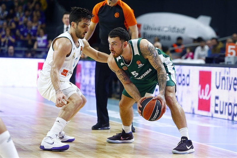 Mike James - Panathinaikos Superfoods Athens - EB17