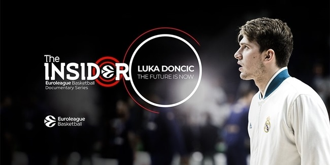 "Insider EuroLeague Documentary Series is back with ""Luka Doncic: The Future Is Now"""