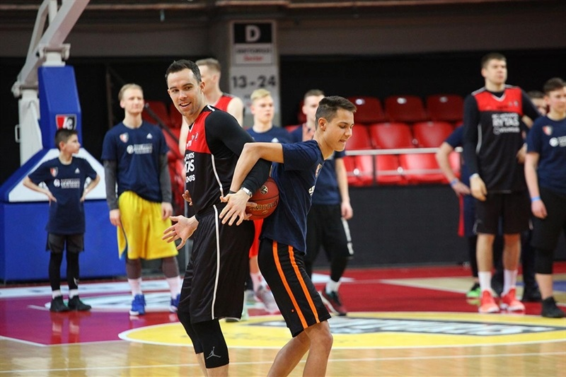 Lietuvos Rytas One Team session