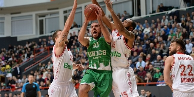 7DAYS EuroCup, Quarterfinals, Game 2: UNICS Kazan vs. FC Bayern Munich