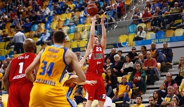 Quarterfinals Game 2: Lokomotiv storms past Gran Canaria to semis!