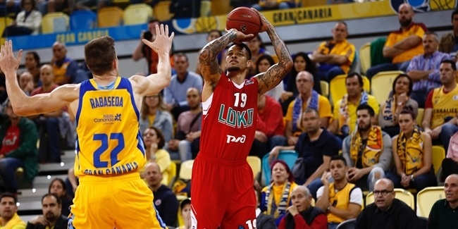 7DAYS EuroCup, Quarterfinals, Game 2: Herbalife Gran Canaria vs. Lokomotiv Kuban Krasnodar