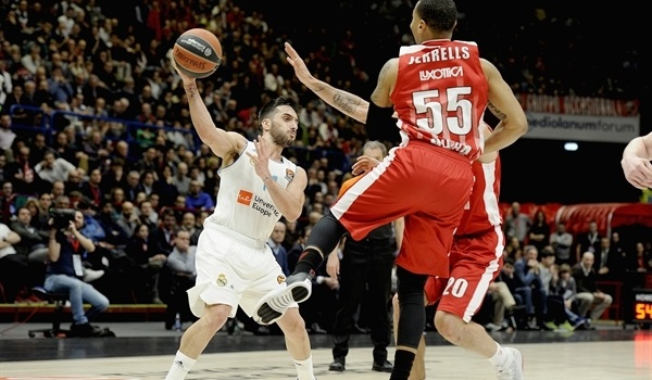 RS Round 26 report: Campazzo stars for Madrid in Milan