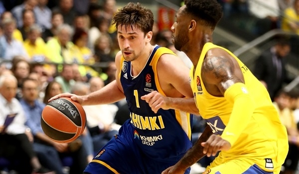 RS Round 26 report: Shved, Gill spark Khimki to Tel Aviv win