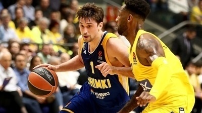 Shved, Gill spark Khimki to Tel Aviv win
