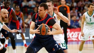 Granger, Vildoza lead Baskonia past Zalgiris