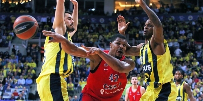 RS Round 26: Fenerbahce Dogus Istanbul vs. CSKA Moscow