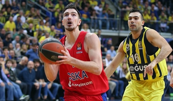 RS Round 26 report: De Colo's game-winner lifts CSKA past Fenerbahce