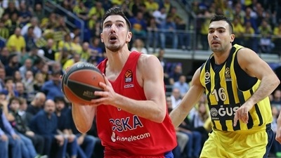 De Colo's game-winner lifts CSKA past Fenerbahce