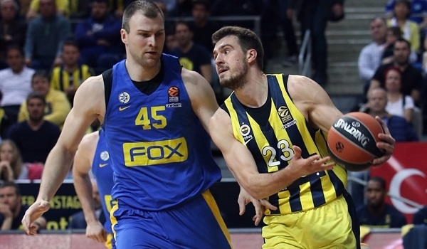 RS Round 27 report: Guduric, Datome lead Fenerbahce past Maccabi