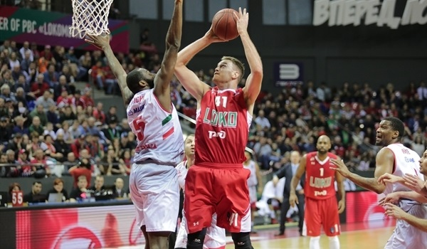 Semifinals Game 1: Lokomotiv tops Reggio Emilia in Game 1 for record-tying win
