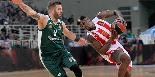 RS Round 27: Panathinaikos Superfoods Athens vs. Crvena Zvezda mts Belgrade