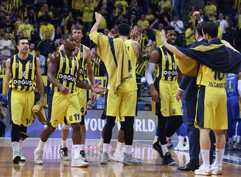 Players Fenerbahce Dogus Istanbul - EB17