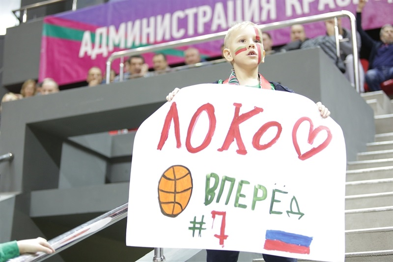 Young Fan - Lokomotiv Kuban Krasnodar (photo Lokomotiv) - EC17