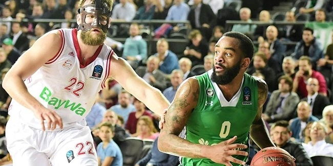 7DAYS EuroCup, Semifinals, Game 1: Darussafaka Istanbul vs. FC Bayern Munich