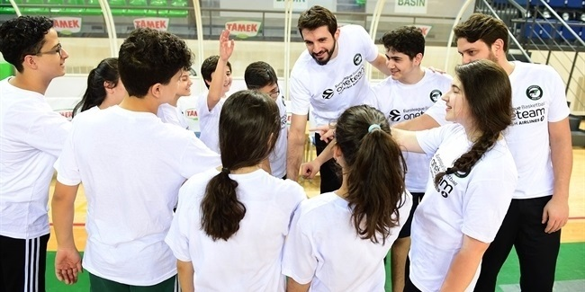 Aldemir backs Darussafaka One Team program