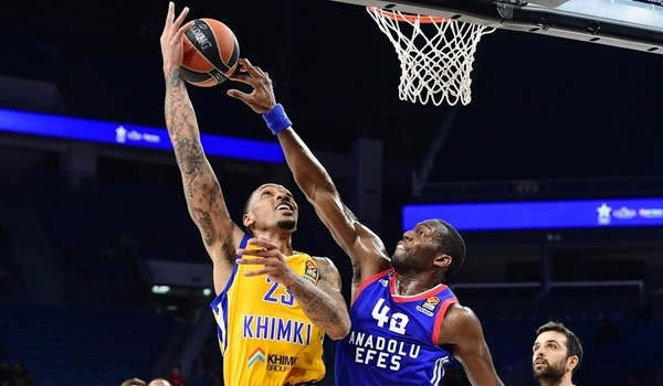 RS Round 27 report: Khimki beats Efes and storms into playoffs