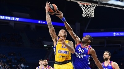 Khimki beats Efes and storms into playoffs