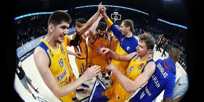 Road to the Playoffs: Khimki Moscow Region