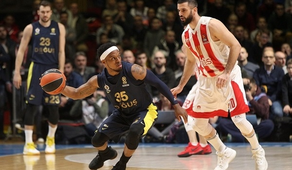 RS Round 28 report: Fener rolls past Zvezda to home-court advantage