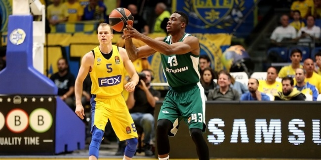 RS Round 28: Maccabi FOX Tel Aviv vs. Panathinaikos Superfoods Athens