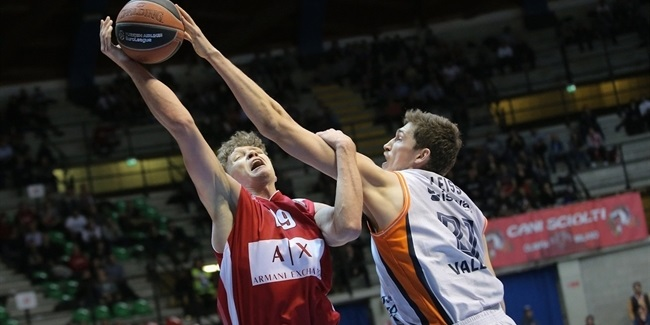 RS Round 28: AX Armani Exchange Olimpia Milan vs. Valencia Basket