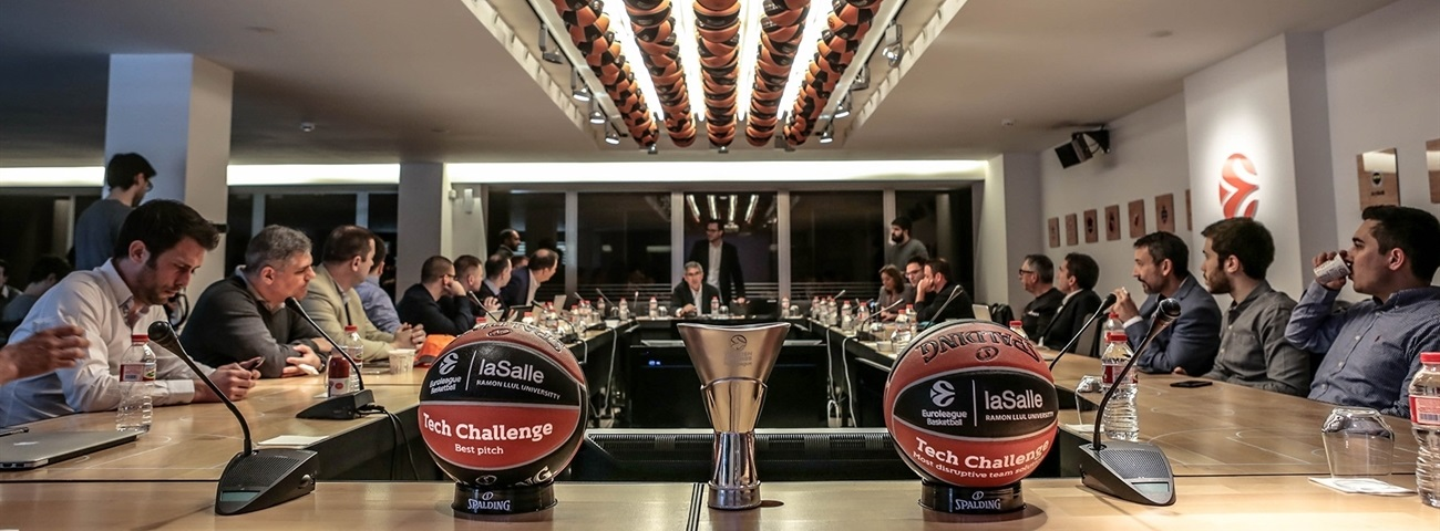 Euroleague Basketball and La Salle-URL present Tech Challenge winners