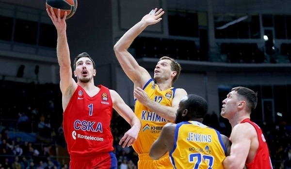RS Round 28 report: Hunter, De Colo lead CSKA past Khimki