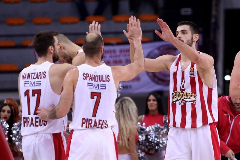 Players Olympiacos Piraeus - EB17