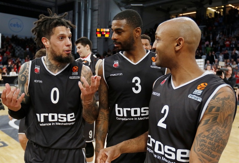 Players Brose Bamberg - EB17