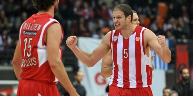 Sportingbet MVP for February: Rasho Nesterovic, Olympiacos Pireaus
