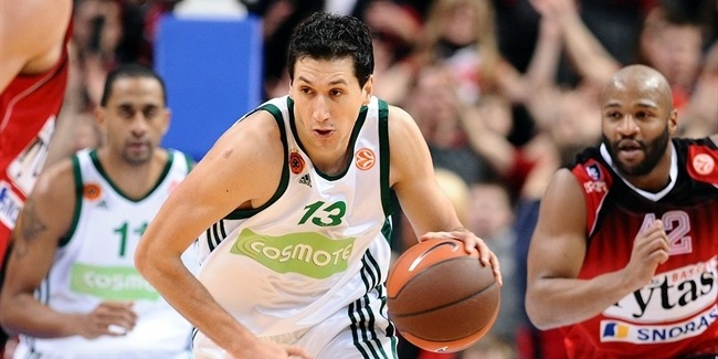 Sportingbet December MVP: Dimitris Diamantidis, Panathinaikos