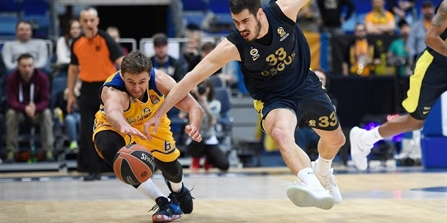 RS Round 29: Khimki Moscow Region vs. Fenerbahce Dogus Istanbul