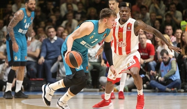 RS Round 29 report: Doncic's last-second triple lifts Madrid over Zvezda
