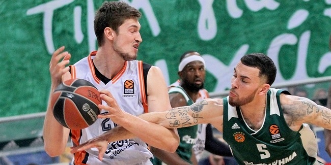 RS Round 29: Panathinaikos Superfoods Athens vs. Valencia Basket