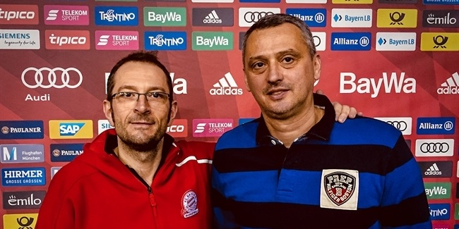 Bayern appoints Radonjic head coach