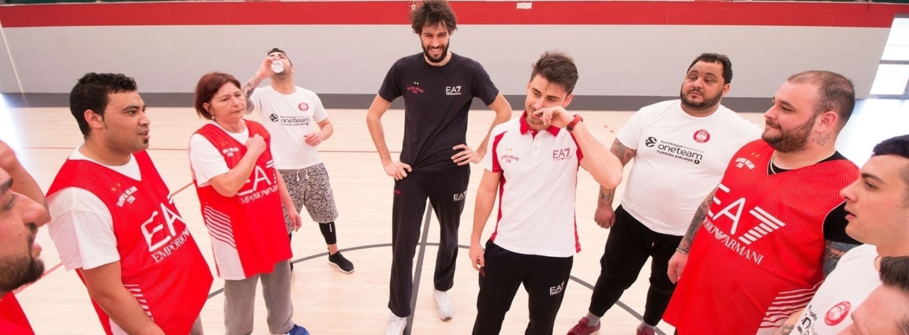 Davide Pascolo, Milan: 'One Team is a great life experience'