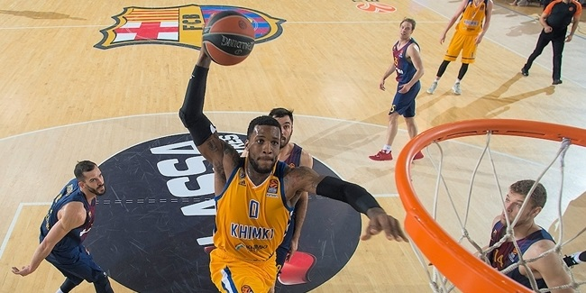 Thomas Robinson, back in the battle for Khimki