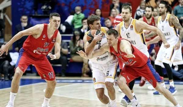 Inside the Playoffs: CSKA Moscow vs. Khimki Moscow Region