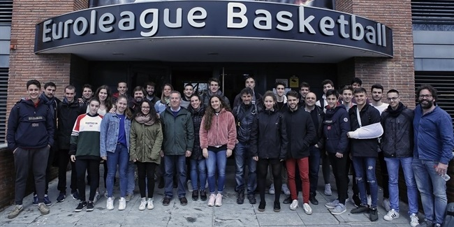 Euroleague Basketball hosts Copa Colegial draw