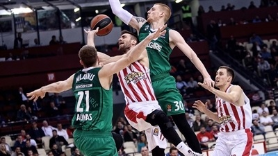 Inside the Playoffs: Olympiacos vs. Zalgiris