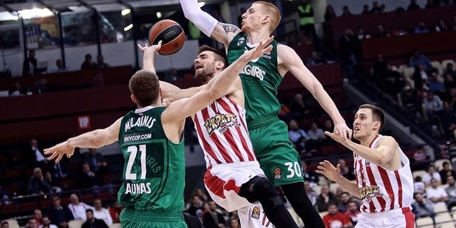 Inside the Playoffs: Olympiacos Piraeus vs. Zalgiris Kaunas