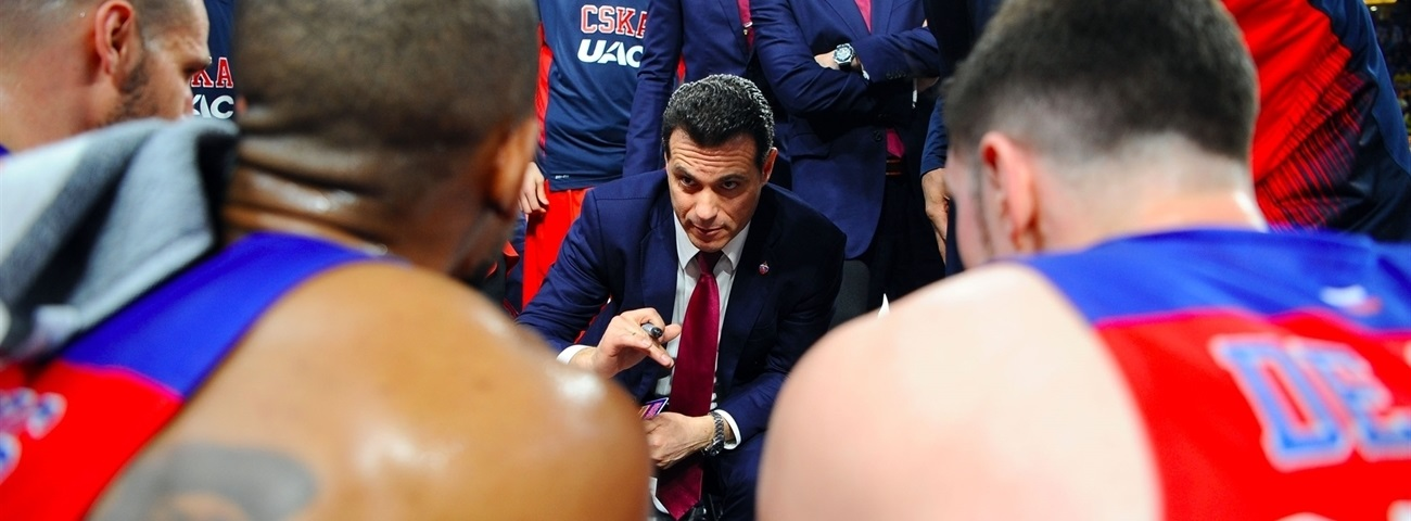Dimitris Itoudis, CSKA: 'There's so much information out there'