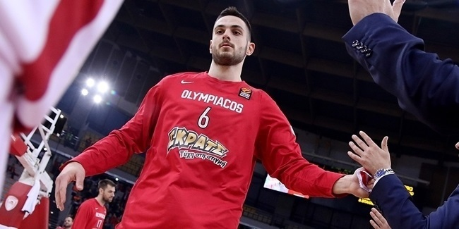 Ioannis Papapetrou, Olympiacos: 'The EuroLeague Playoffs are here!'
