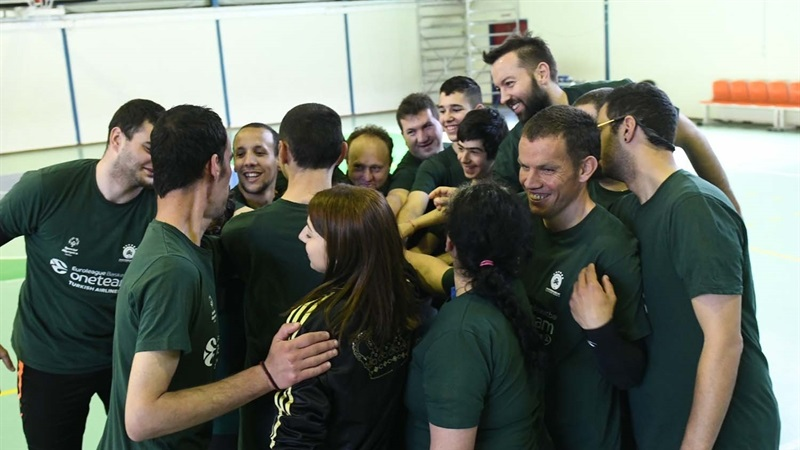 Panathinaikos One Team session