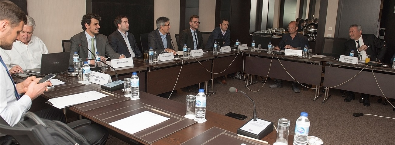EuroCup Board meets in Istanbul ahead of 7DAYS EuroCup Finals Game 2