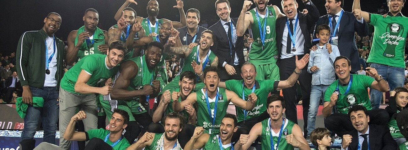 7DAYS EuroCup champions (2003 - 2018)
