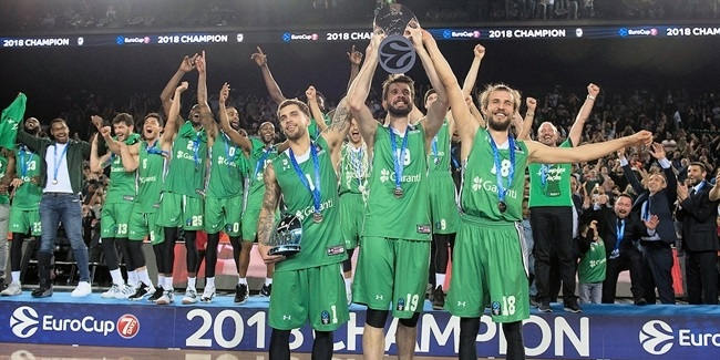 7DAYS EuroCup, Finals, Game 2: Darussafaka Istanbul celebration!