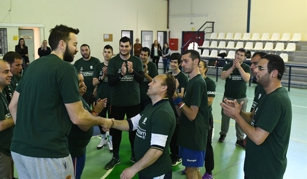 Vougioukas limbers up for playoffs with One Team
